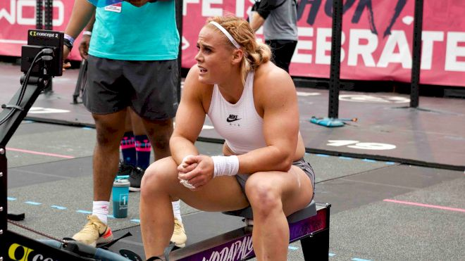 Sigmundsdottir, Williams & Mayhem Freedom Grab Leads Day 2 At Wodapalooza