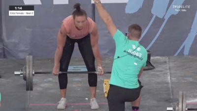 Tina Hills   2.23.2020   Elite Women   Down-Up   Heat 2