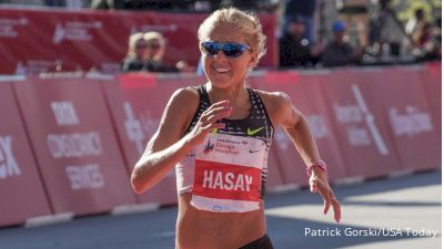 After Tumultuous Year, Can Hasay Turn In Another Big Marathon?