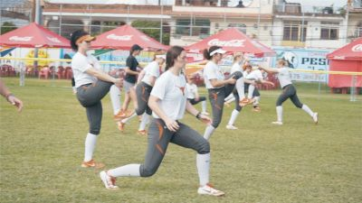 Texas Softball Warm Up 2