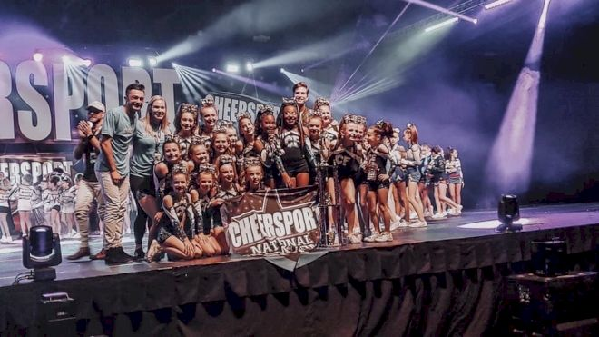 3 Teams From Louisiana Cheer Force Compete For The Triple Crown