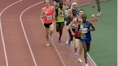 Men's 5k Invite, Heat 1 - Shadrack Kipchirchir 13:08!