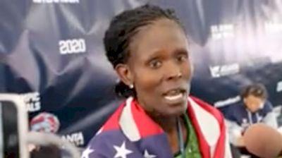 Sally Kipyego Takes 3rd