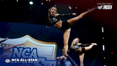 Highlights From Cheer Extreme Code Black's Winning Routine