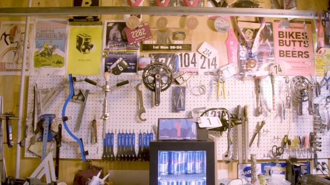 Inside Colin Strickland's Garage