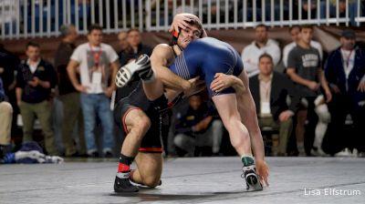 149 lbs Quarterfinal - Matt Kolodzik, Princeton vs Jared Prince, Navy