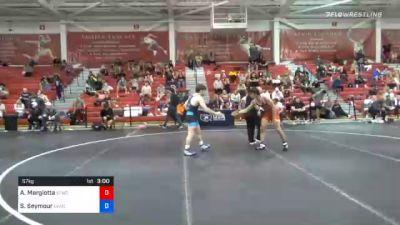 57 kg Prelims - Antonio Margiotta, San Francisco Wrestling Club vs Sheldon Seymour, Lehigh Valley Wrestling Club