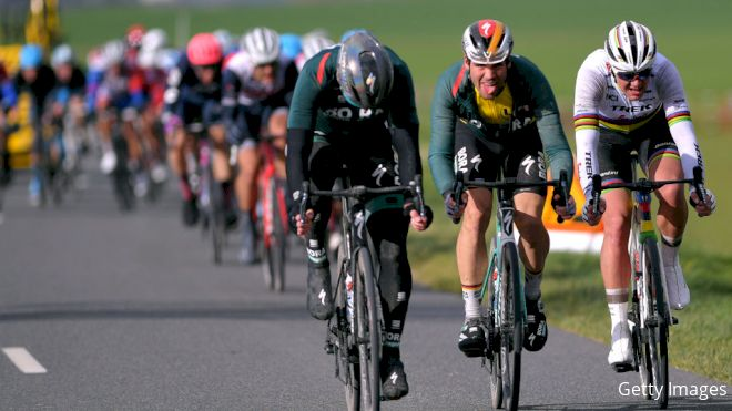 Recap: Peloton Shatters Again In Challenging Stage 2