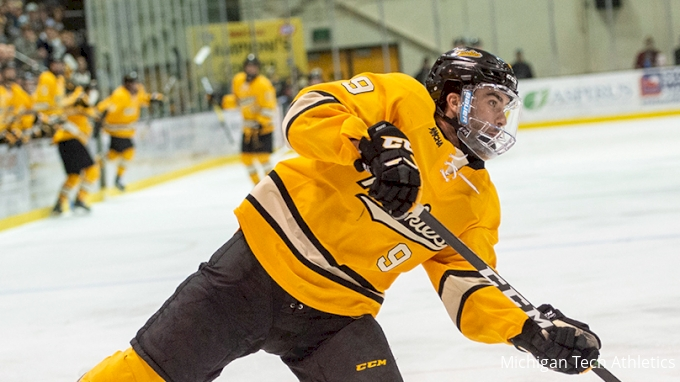 picture of Lucky No. 13: How Michigan Tech Downed Ranked Boston College