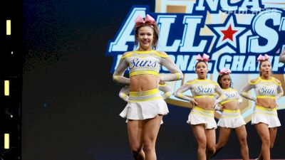 Cheer Central Suns Lady Suns Win NCA!