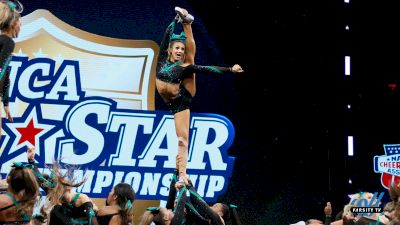 Cheer Extreme Senior Elite Wins Their First Varsity All Star Triple Crown Championship!