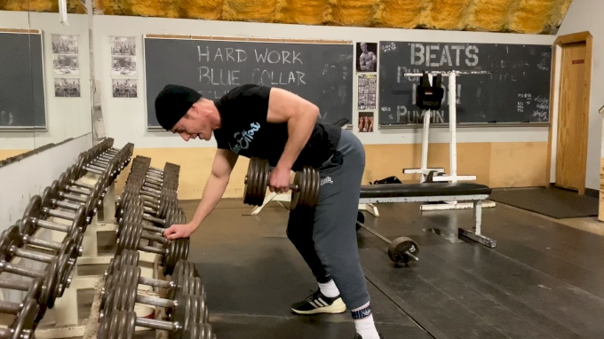 Coach Myers Wrestling S&C: DB Row