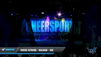 Cheer Extreme - Raleigh - SSX [2021 L6 Senior - Small Day 1] 2021 CHEERSPORT National Cheerleading Championship