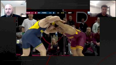Gable Steveson Breaks Down His Big Ten Final