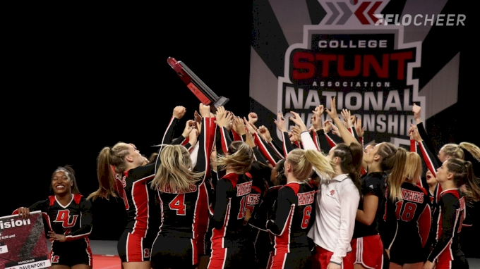 picture of 2021 College STUNT Nationals