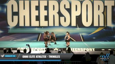 Omni Elite Athletix - Twinkles [2021 L1 Tiny - Novice - Restrictions - D2 Day 1] 2021 CHEERSPORT: Charlotte Grand Championship