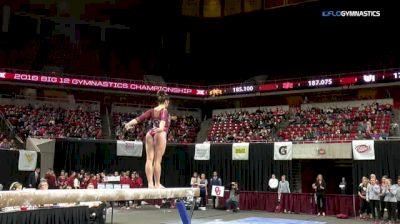 Maggie Nichols - Beam, Oklahoma - 2018 Big 12 Championship