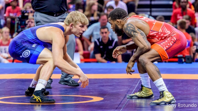 picture of 2021 USA Wrestling Olympic Team Trials Watch Party
