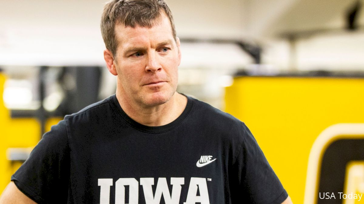 Iowa Head Coach Tom Brands Tests Positive for COVID-19