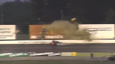 Thunder Homecoming Archives: Steve Barth Crash At Lucas Oil Raceway On Chinese Television