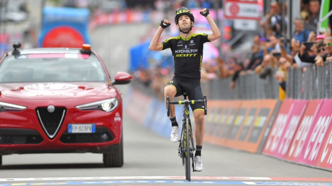 picture of Mikel Nieve Vuelta a Espana 2020