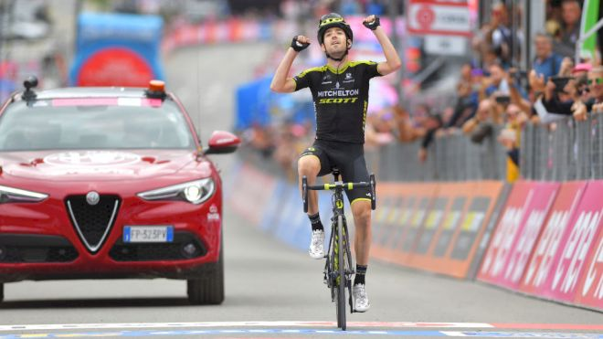 Mikel Nieve Vuelta a Espana 2020