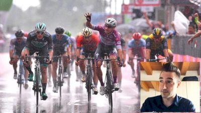 Pro Breakdown: Viviani's 2018 Giro Stage Win Under Downpour