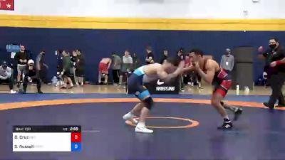 57 kg Quarterfinal - Darian Cruz, New York Athletic Club vs Sean Russell, Gopher Wrestling Club - RTC