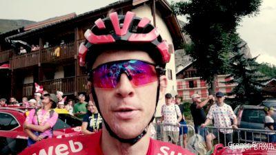 Haga Hoping To Do More Than Survive Tour De France