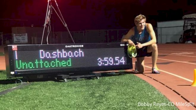 Leo Daschbach Becomes 11th U.S. Prep To Break 4:00 With 3:59.54