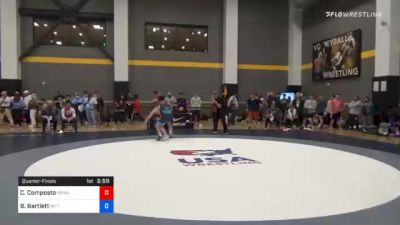65 kg Quarterfinal - Cj Composto, Pennsylvania RTC vs Beau Bartlett, Nittany Lion Wrestling Club