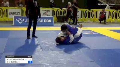 ANDRÉ LUIZ NOVAES PORFIRIO vs ESTEVAN G MARTINEZ-GARCIA 2021 Pan Jiu-Jitsu IBJJF Championship