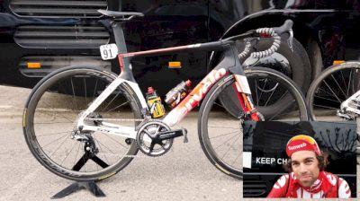 Bike Check: Michael Matthews' Cervélo S5 Aero Bike
