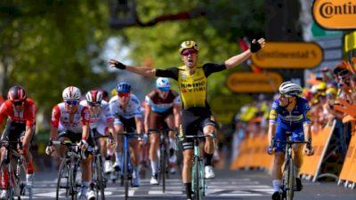 Highlights: Van Aert's Crosswind Tour Win