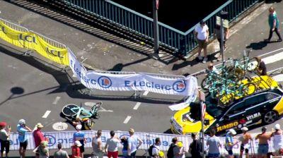 Highlights: Van Aert Crashes Badly In Tour