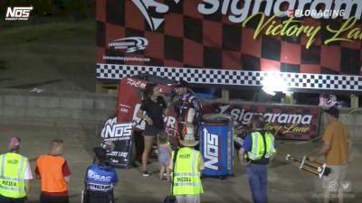 USAC Midget Recap   IMW at Lawrenceburg Speedway