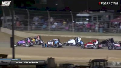 Sprint Car Feature   IMW at Lawrenceburg Speedway