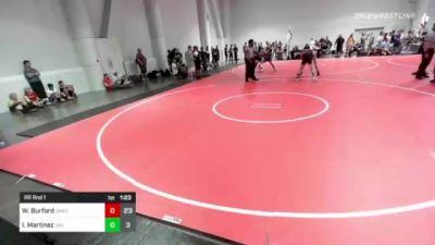 145 lbs Rr Rnd 1 - Wes Burford, Oakdale vs Isaiah Martinez, Jag Way