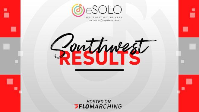 2020 WGI eSolo - Southwest Region