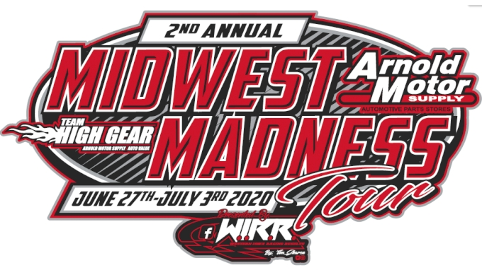 picture of 2020 Midwest Madness Tour at Clay County Fair Speedway