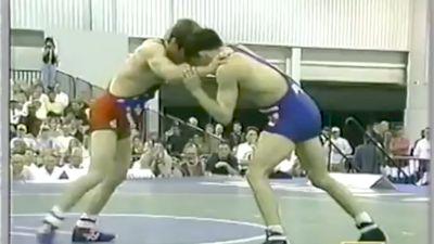 1999 US Nationals, Terry Brands vs Tony Purler