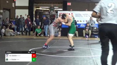 285 lbs 5th Place - Ben Goldin, Penn vs Joe Doyle, Binghamton