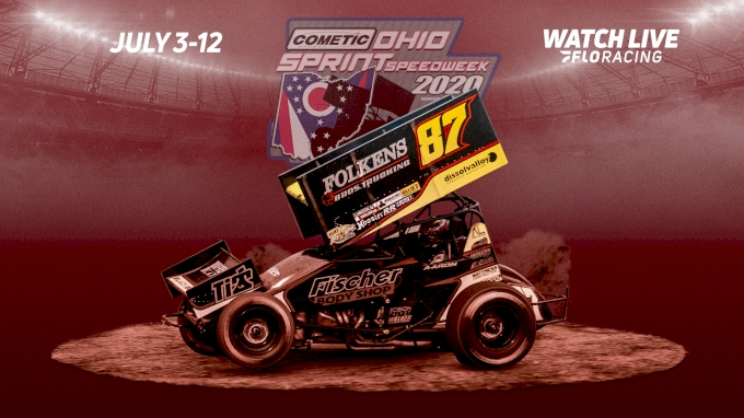 picture of 2020 Ohio Sprint Speedweek All Star Circuit of Champions