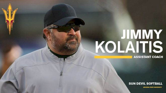 Jimmy Kalaitis Hired As Arizona State Assistant Softball Coach