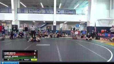 80 lbs Round 6 (8 Team) - Samuel Adams, Team Ohio vs Gabe Benyo, Mat Assassins