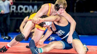Shane Griffith vs Vincenzo Joseph | Wrestlers Watching Wrestling
