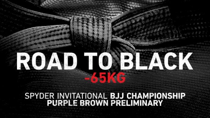 Spyder BJJ -65kg Road to Black
