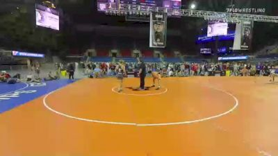 132 lbs Consi Of 8 #2 - Zeke Seltzer, Indiana vs Walker Bents, Minnesota