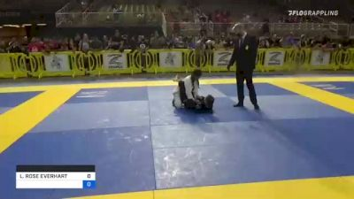 LIVIA ROSE EVERHART vs ZAINA ALYSSA M. MONSALVE 2021 Pan Kids Jiu-Jitsu IBJJF Championship