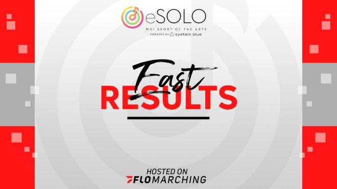 East WGI eSolo Scholarship Winners & Fan Favorite Announced!